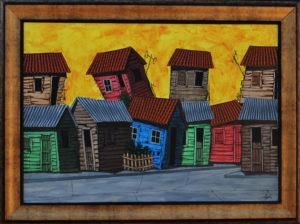 baracoa-mini-city-1-35-x-26-cm-framed-acrylic-on-canvas-vinent-750