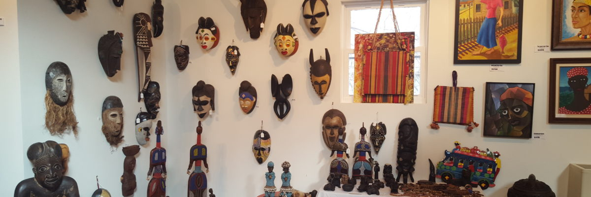 From Paintings to Sculpture, African Masks